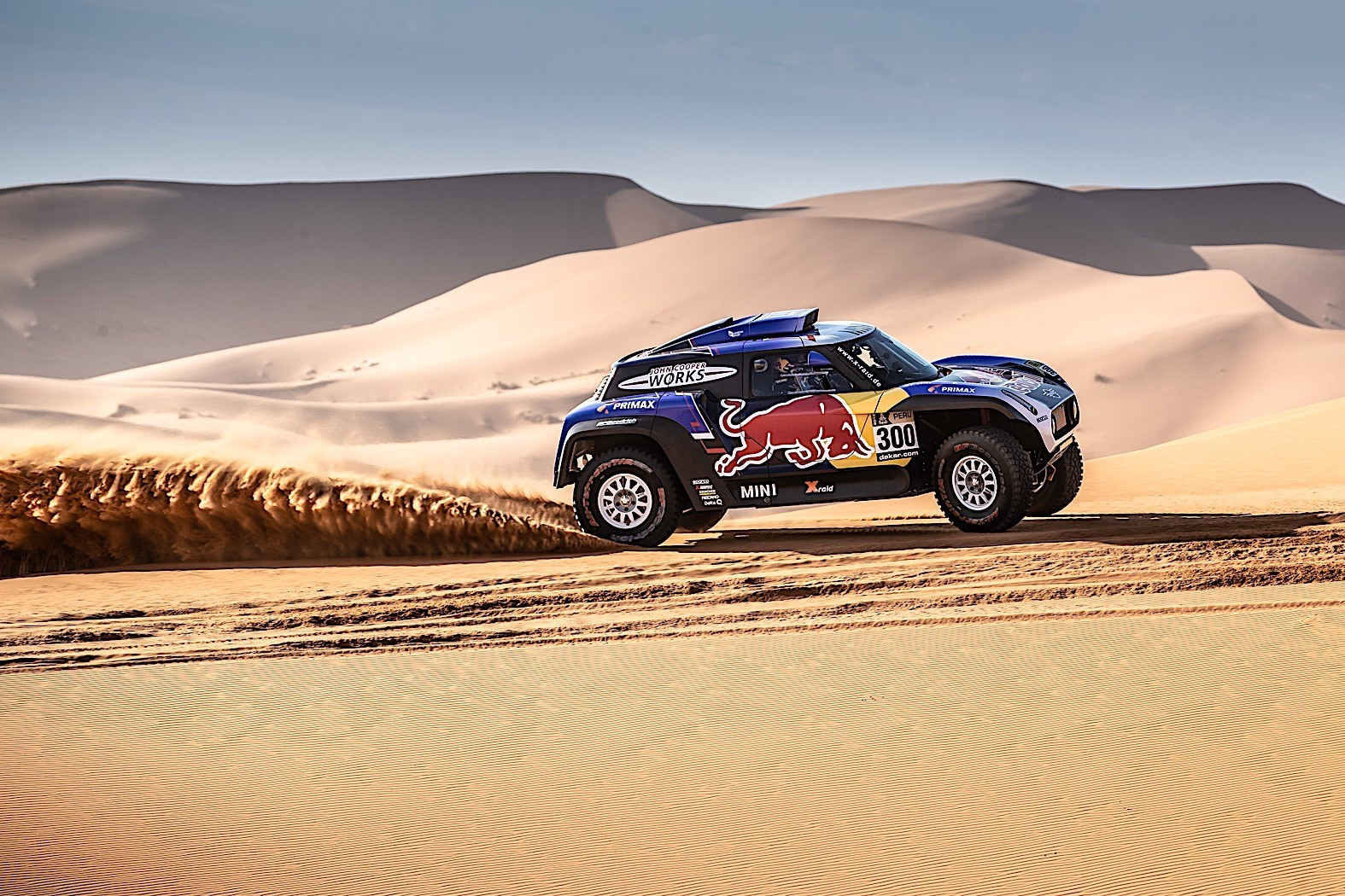 Buggy Mini Cooper Mini John Cooper Works Buggies Get Ready For Dakar With
