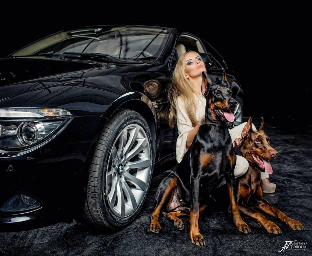 Bmw M5 Girl Wallpaper Model Anna Trisvetova Makes Old Bmw 6 Series Look Gangsta