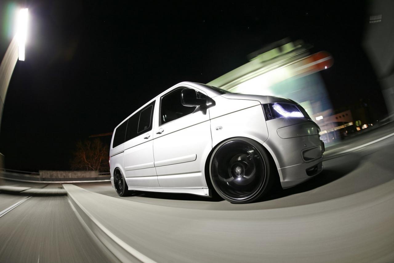 Green Car Modification Wallpaper Mr Car Design Vw Transporter T5 Released Autoevolution