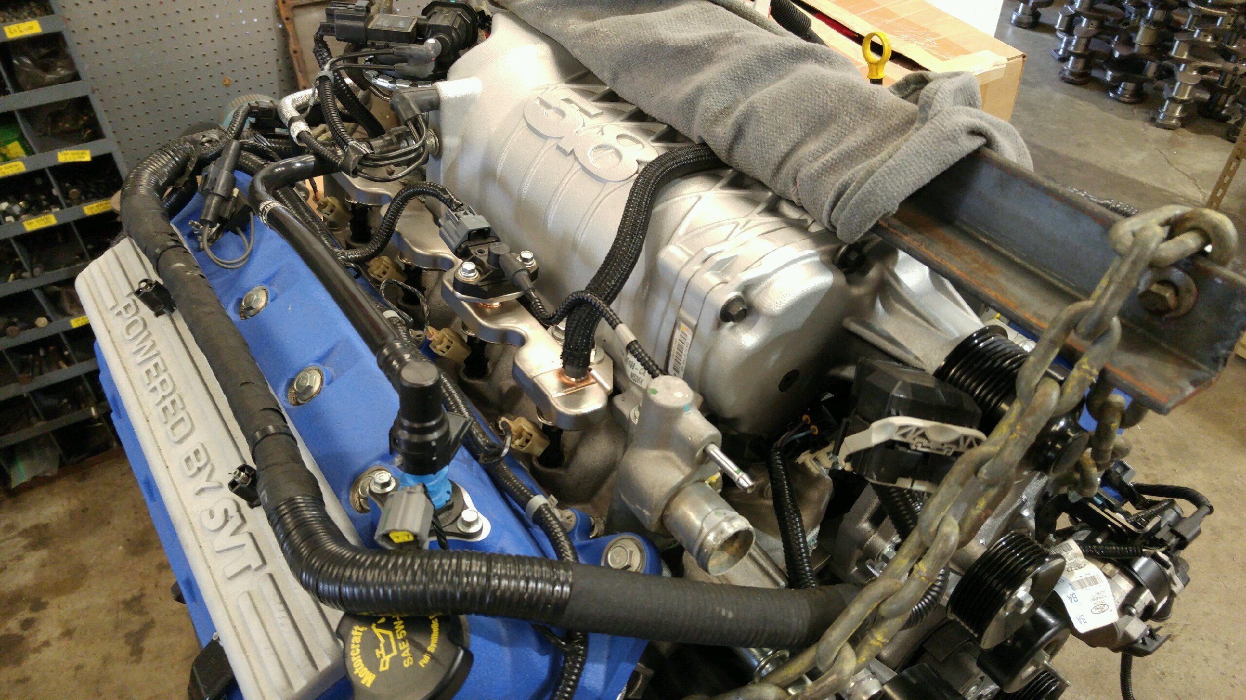 Ford 2 5 Liter Engine Diagram Shelby Gt500 Owner Buys Cheap Internet Tune Grenades His