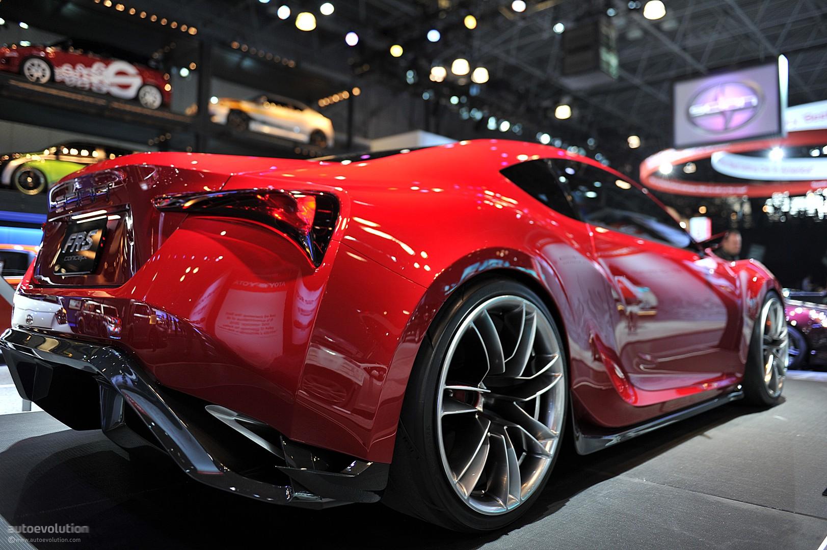 Modified Sports Car Wallpaper Nyias 2011 Scion Fr S Concept Live Photos Autoevolution