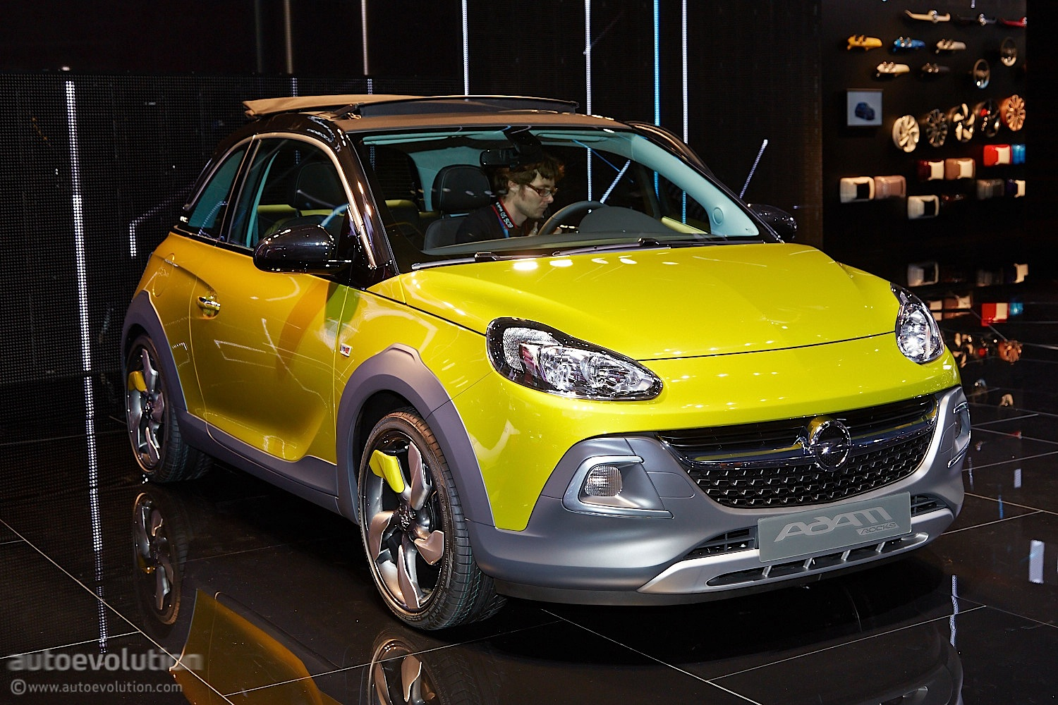 Car Crash Opel Adam Rocks Rolls Its Way To A Geneva Debut [live