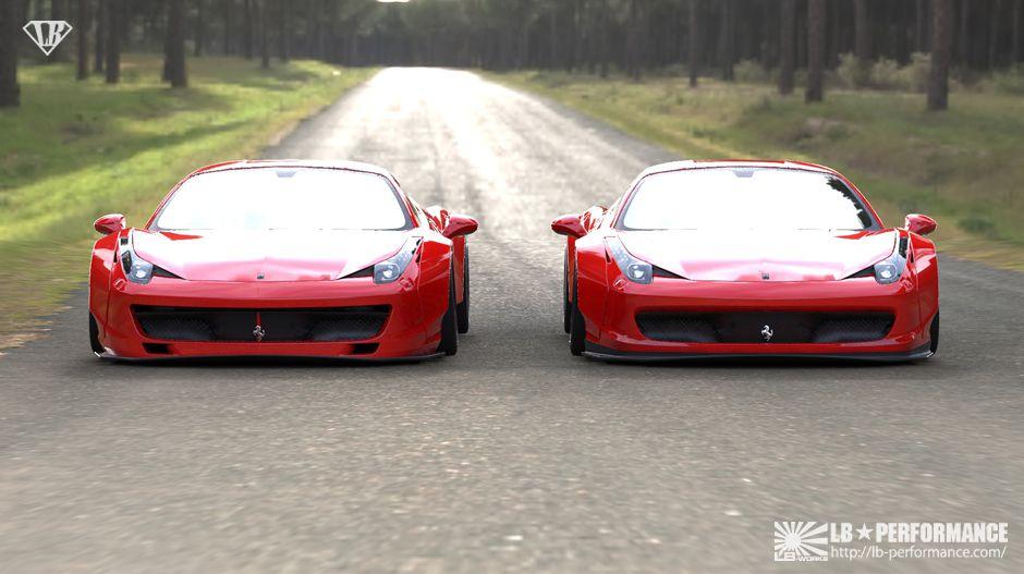 Lamborghini 3d Live Wallpaper Ouch German Tuner Cuts Ferrari 458 To Install Liberty