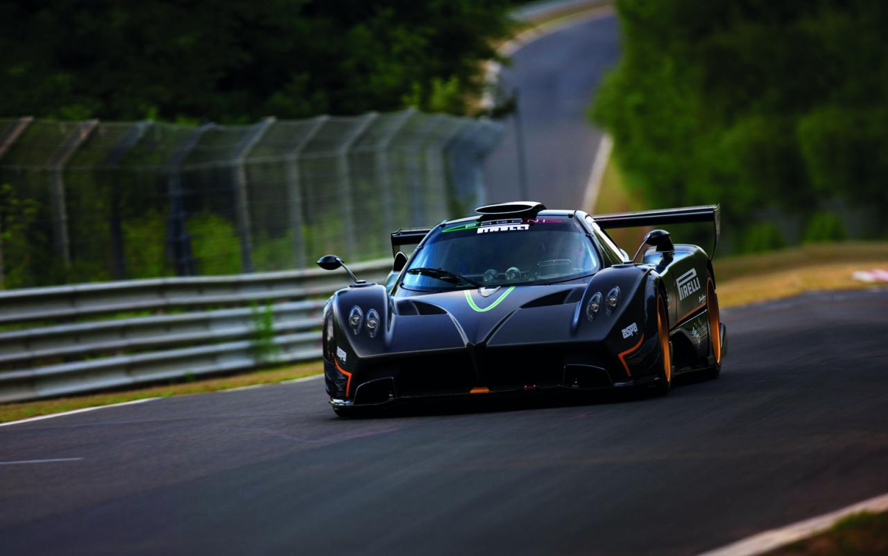 Gtr Car Hd Wallpaper Pagani Zonda R Nurburgring Record Run Video And Pictures