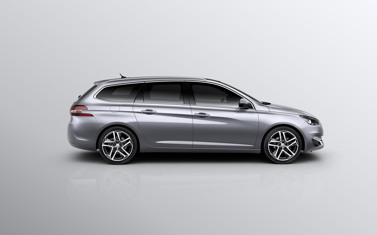 Peugeot 308 Sw Peugeot 308 Sw Revealed With 610 Liters Of Cargo Space