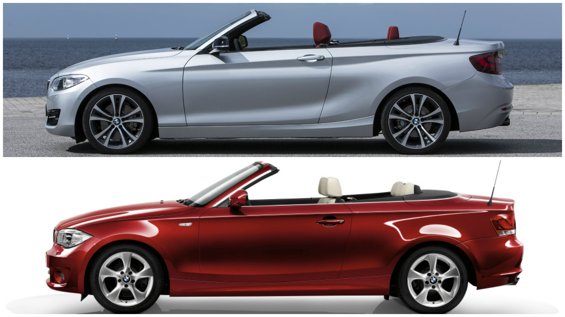Bmw 2 Series Length Photo Comparison Bmw 2 Series Convertible Vs 1 Series
