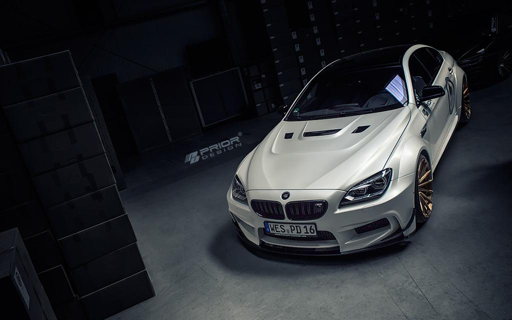 Car Tuning Wallpaper Hd Prior Design S Bmw M6 Gran Coupe Gets Radical Interior
