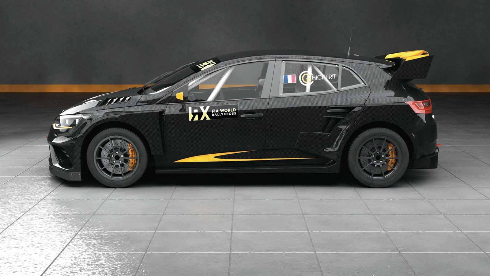 Monster Rally Car Wallpaper Prodrive S Renault Megane Rx Is A Rallycross Supercar