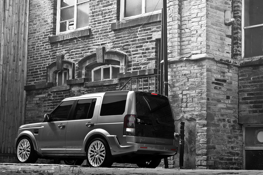 Black Car Lights Wallpaper Project Kahn Targets The Land Rover Discovery 4