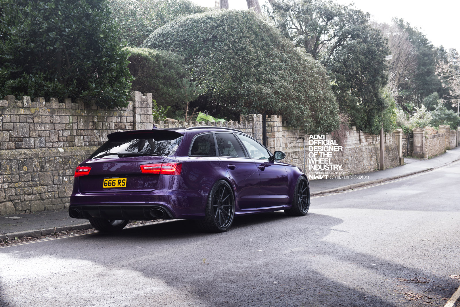 Audi Rs3 Wallpaper Hd Purple Sled Audi Rs6 Avant On Adv 1 Wheels Autoevolution
