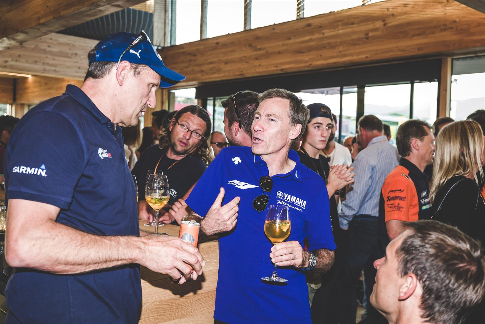Massivholzhaus Thoma Red Bull Ktm Racing Opens Doors To New Holzhaus Station
