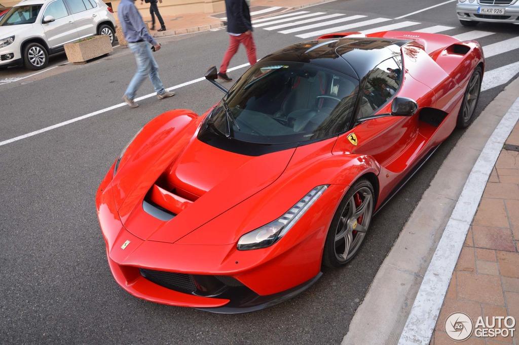 Wallpaper Hd Ducati Red Laferrari Spotted In Monaco Autoevolution