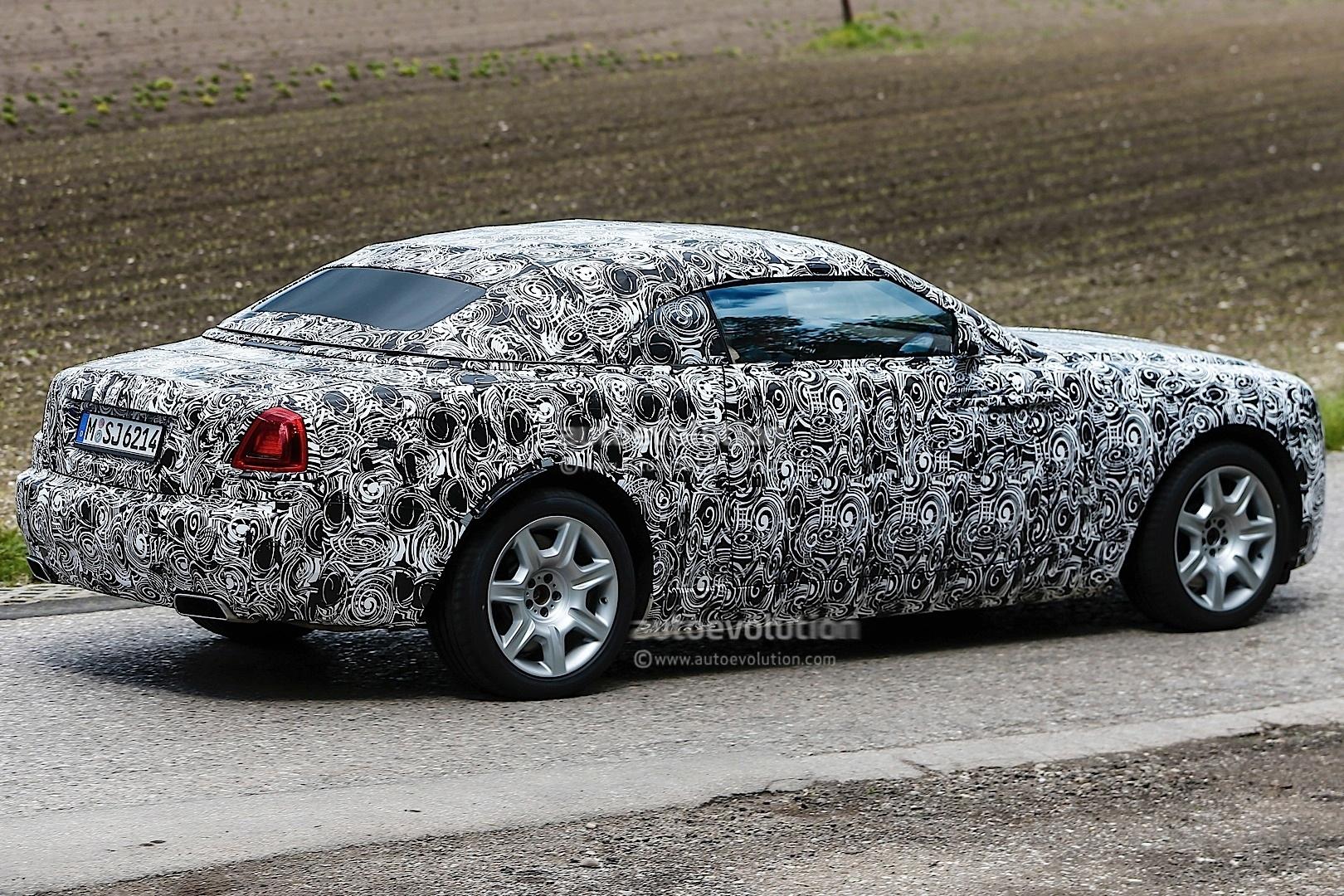 Phantom Car Wallpaper Rolls Royce Spied Testing Wraith Drophead Coupe