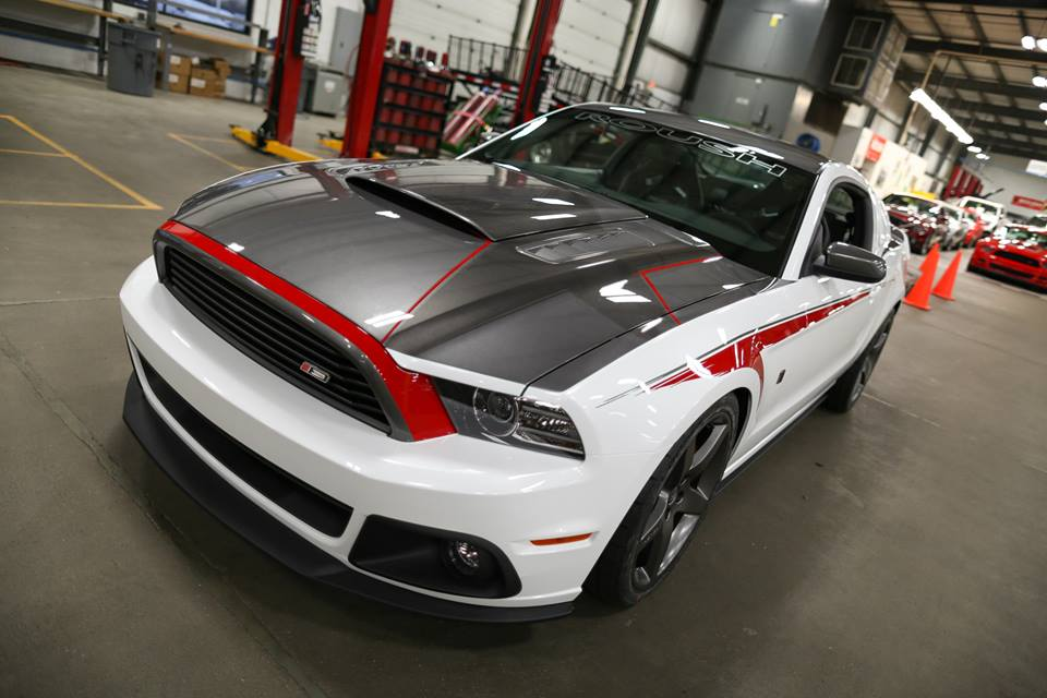 Car Paint Job Roush Showcases Custom 2014 Stage 3 Mustang - Autoevolution