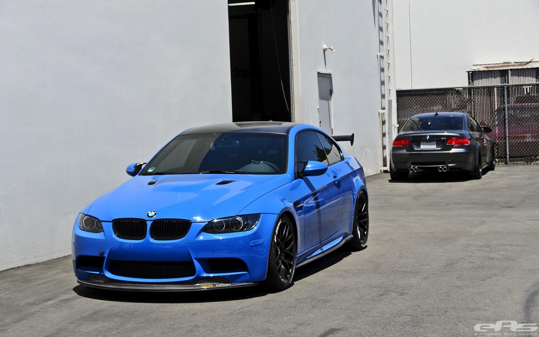 Bmw Concept Car Wallpaper Santorini Blue Bmw E92 M3 Gets Serious At Eas Autoevolution