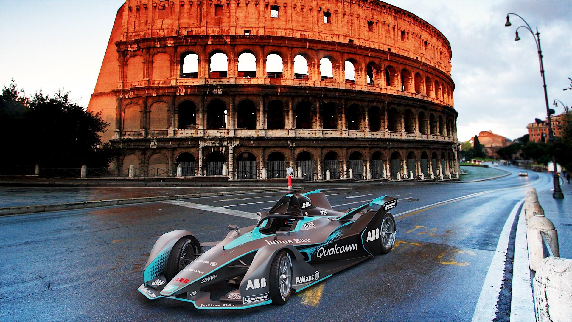 Formula One Car Wallpaper Second Gen Formula E Car Gets The Futuristic Look It