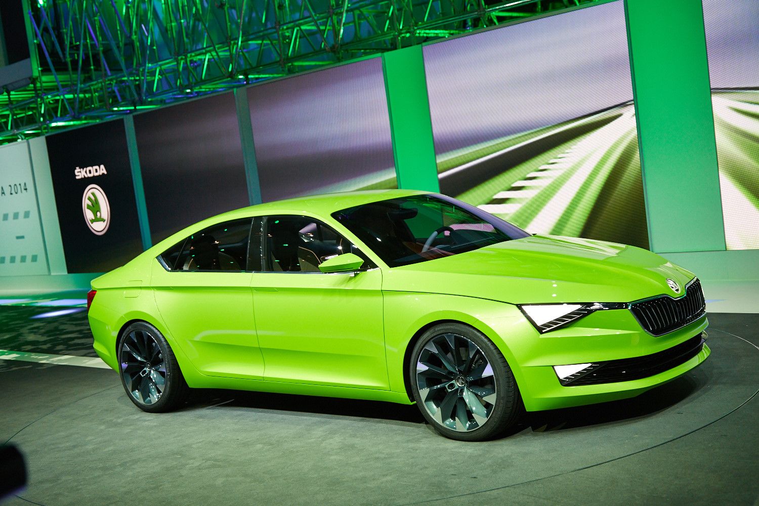 Future Car Wallpaper Skoda Visionc Concept Shines In Geneva Live Photos