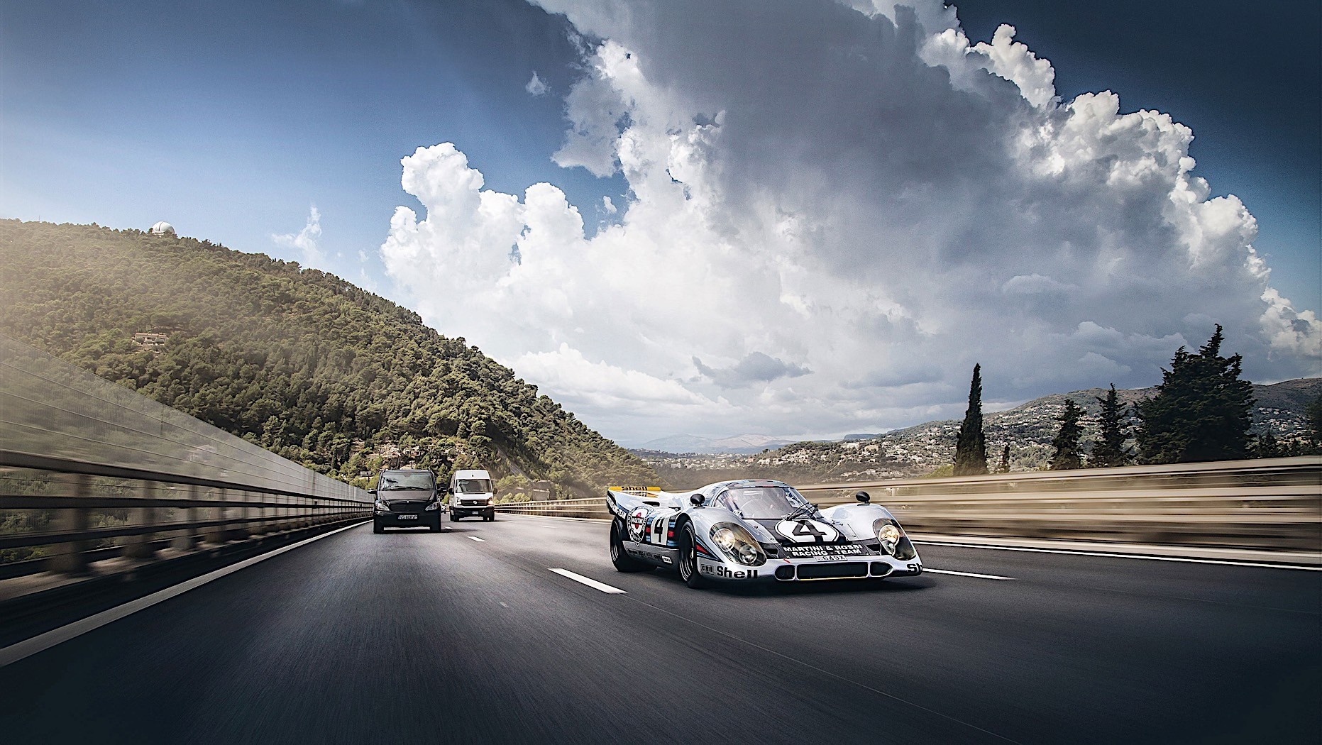 Pagani Car Wallpaper The Story Of How A Road Legal Porsche 917 Roams The