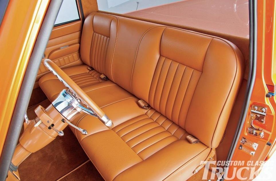 This Orange Pearl Chevrolet C10 Truck Is a True Classic - autoevolution