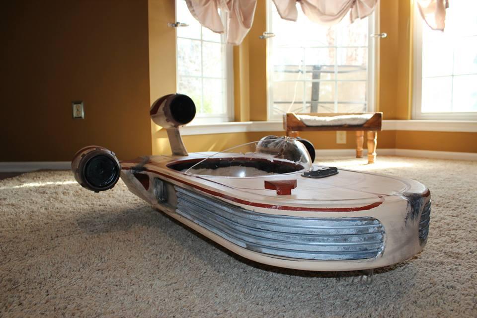 Best Car Wallpapers Ever Star Wars Landspeeder Is The Best Cat Bed Ever Autoevolution