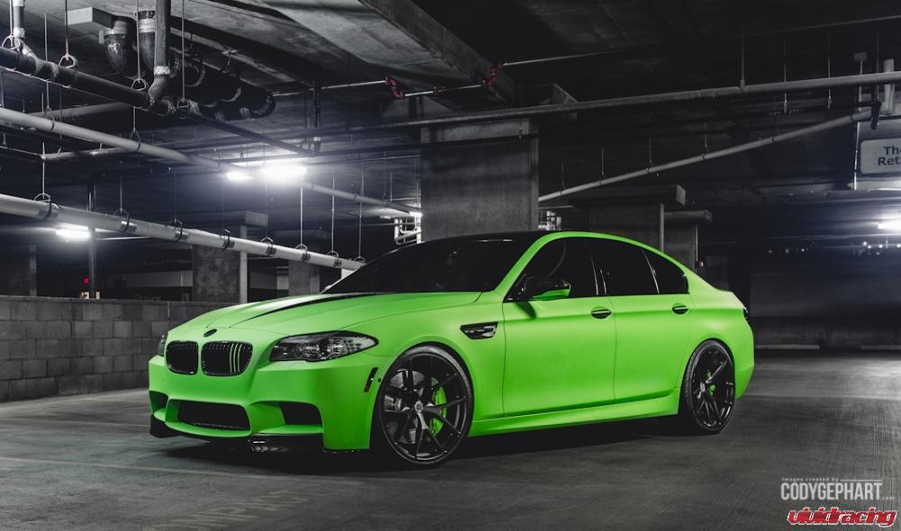 Custom Old Cars Wallpaper Toxic Green Bmw F10 M5 Represents Vivid Racing At 2014