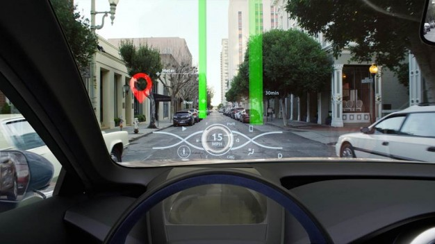 Engine Live 3d Wallpaper Toyota Previews New 3d Head Up Display Autoevolution