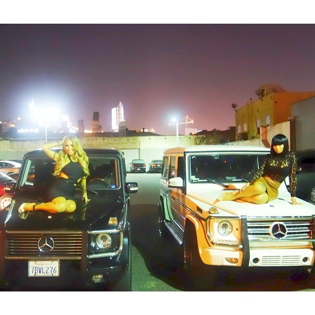 Baby Mercedes G Class Tyga's Baby Mama Blac Chyna Is All About The German Cars