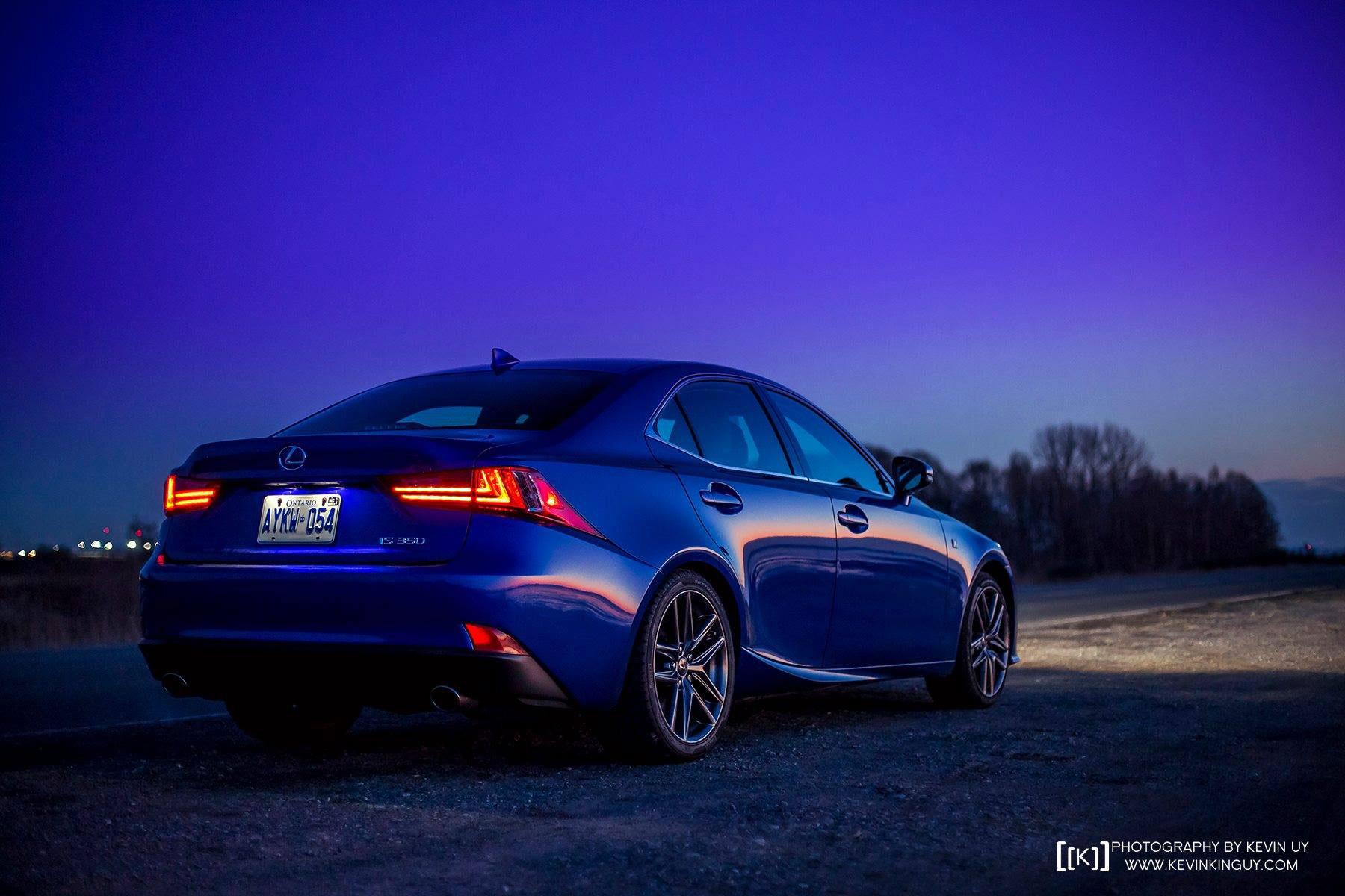 Toyota Land Cruiser Hd Wallpaper Ultrasonic Blue Lexus Is F Sport At Dusk For Your Desktop