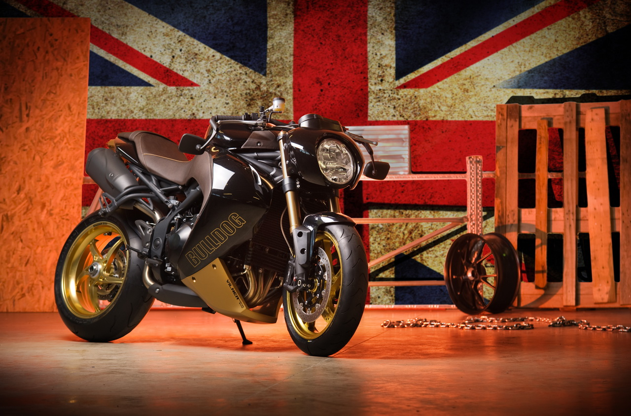 Custom Classic Car Wallpapers Vilner Bulldog A Custom Approach To The Triumph Speed