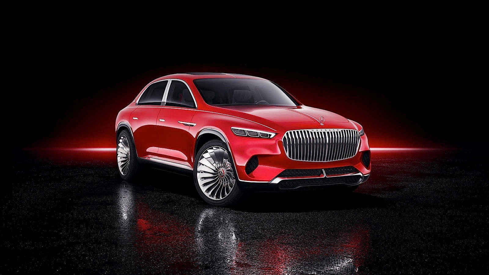 Car Lineup Wallpaper Vision Mercedes Maybach Ultimate Luxury Is A High Riding