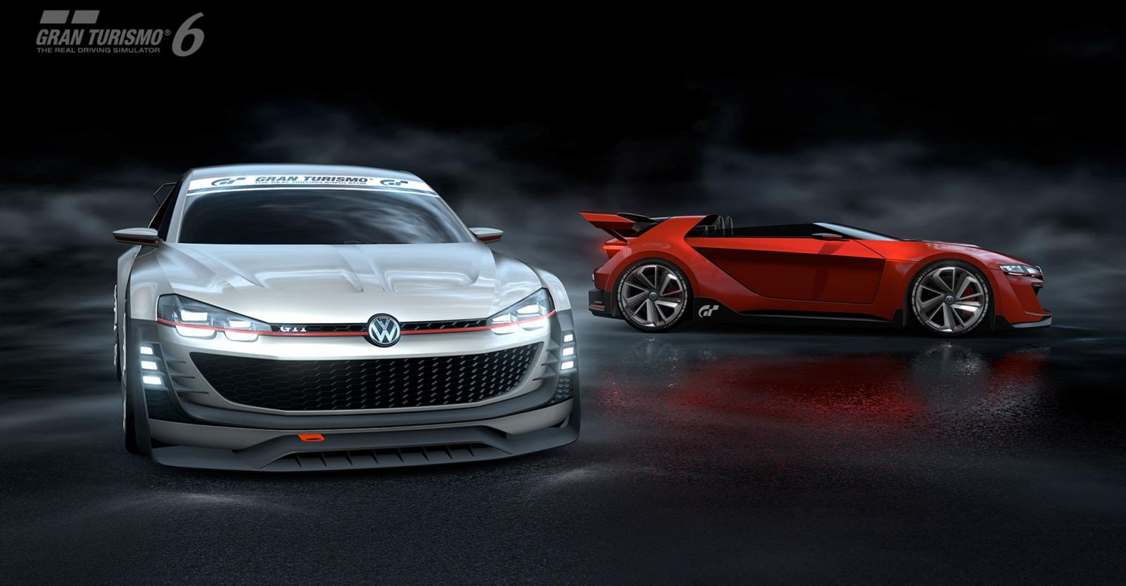 3d Golf Wallpaper For The Home Volkswagen Unveils New Gti Supersport Vision Gran Turismo