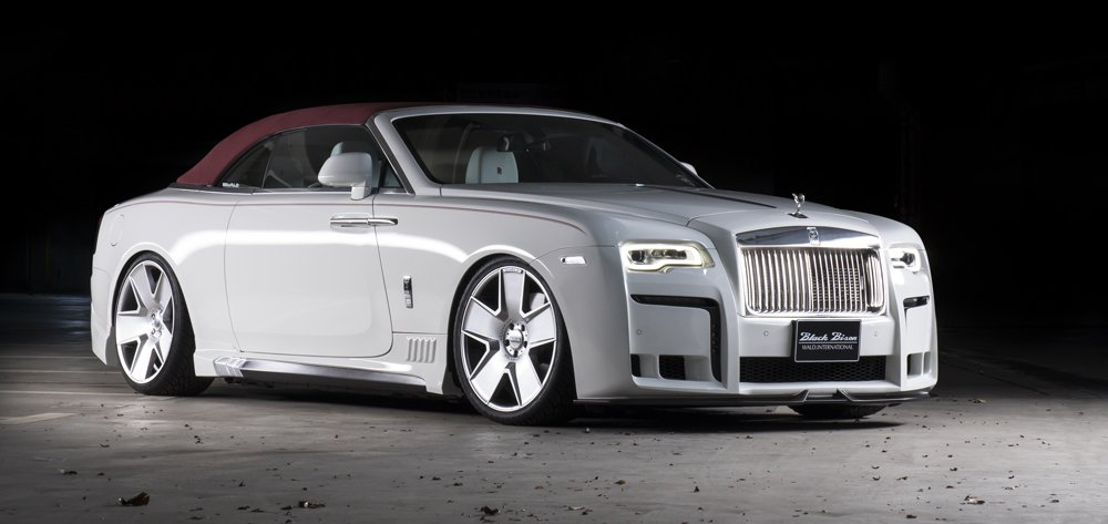 Pure Black Wallpaper Wald Black Bison Rolls Royce Dawn Is A Crazy Tuned Luxury