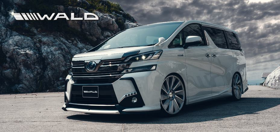Motorcycle Car Wallpaper Wald International S Exterior Kit For The Toyota Vellfire