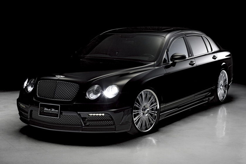 World Best Sport Car Wallpapers Wald Presents The Bentley Continental Flying Spur Black