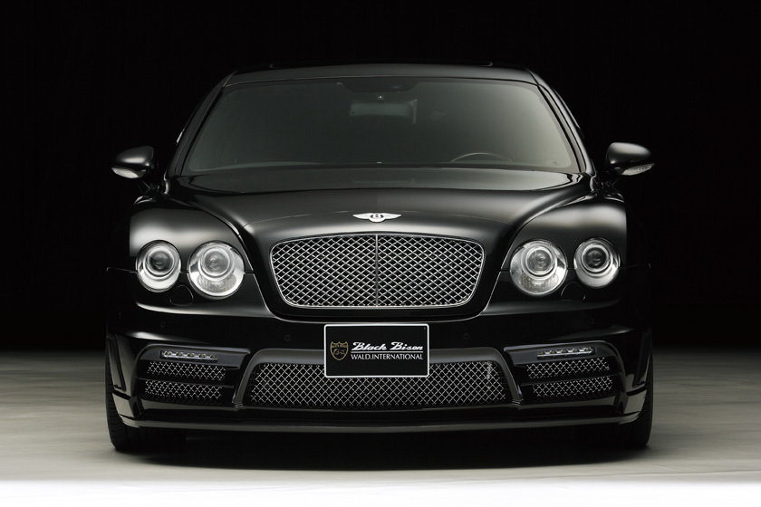 Evolution Hd Wallpaper Wald Presents The Bentley Continental Flying Spur Black