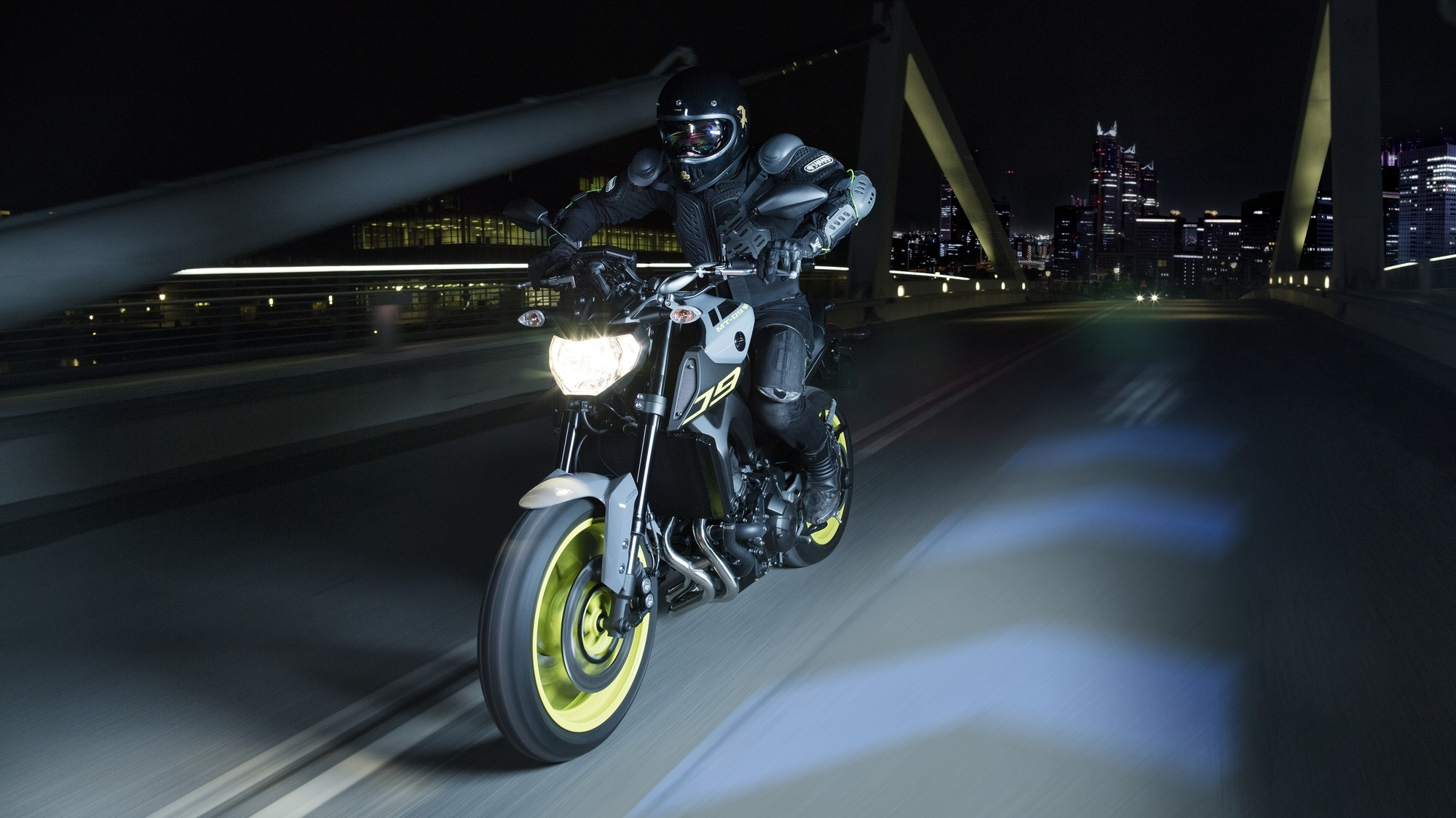 Cool Race Car Wallpaper Yamaha Adds Night Fluo To More Mt Bikes Shows The Mt 07