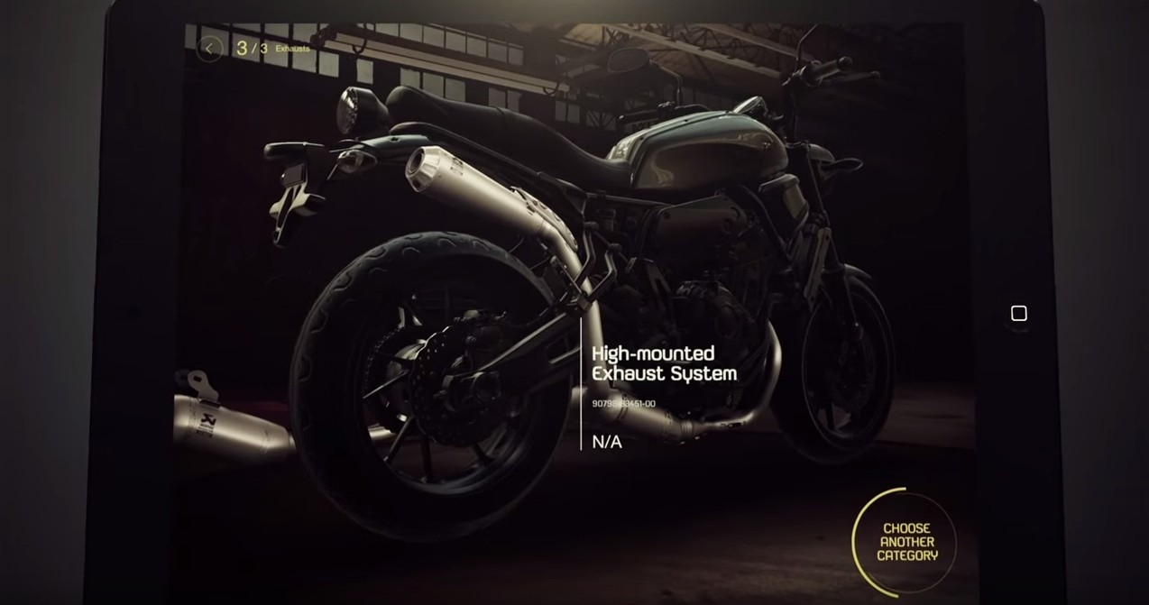 Garage Yamaha Yamaha Launches My Garage Bike Customization App Autoevolution