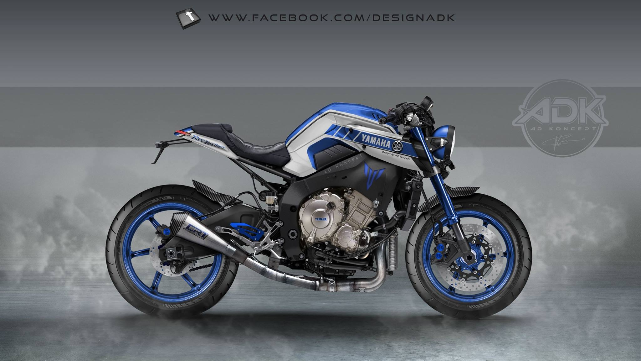 Mighty Car Mods Wallpaper Yamaha Mt 10 In Valentino Rossi Livery And More From Ad