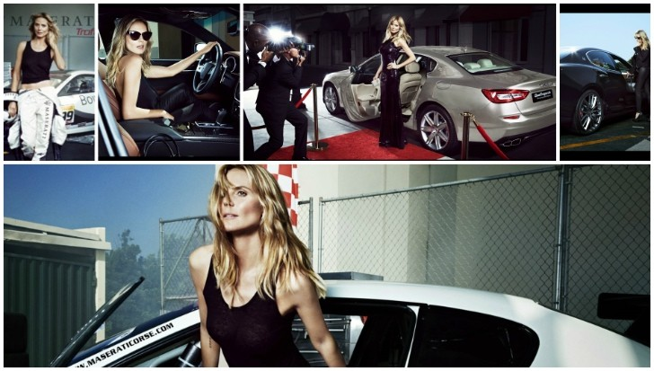 A Car Automotive Heidi Klum Makes Maserati Cool Again In Sports Illustrated