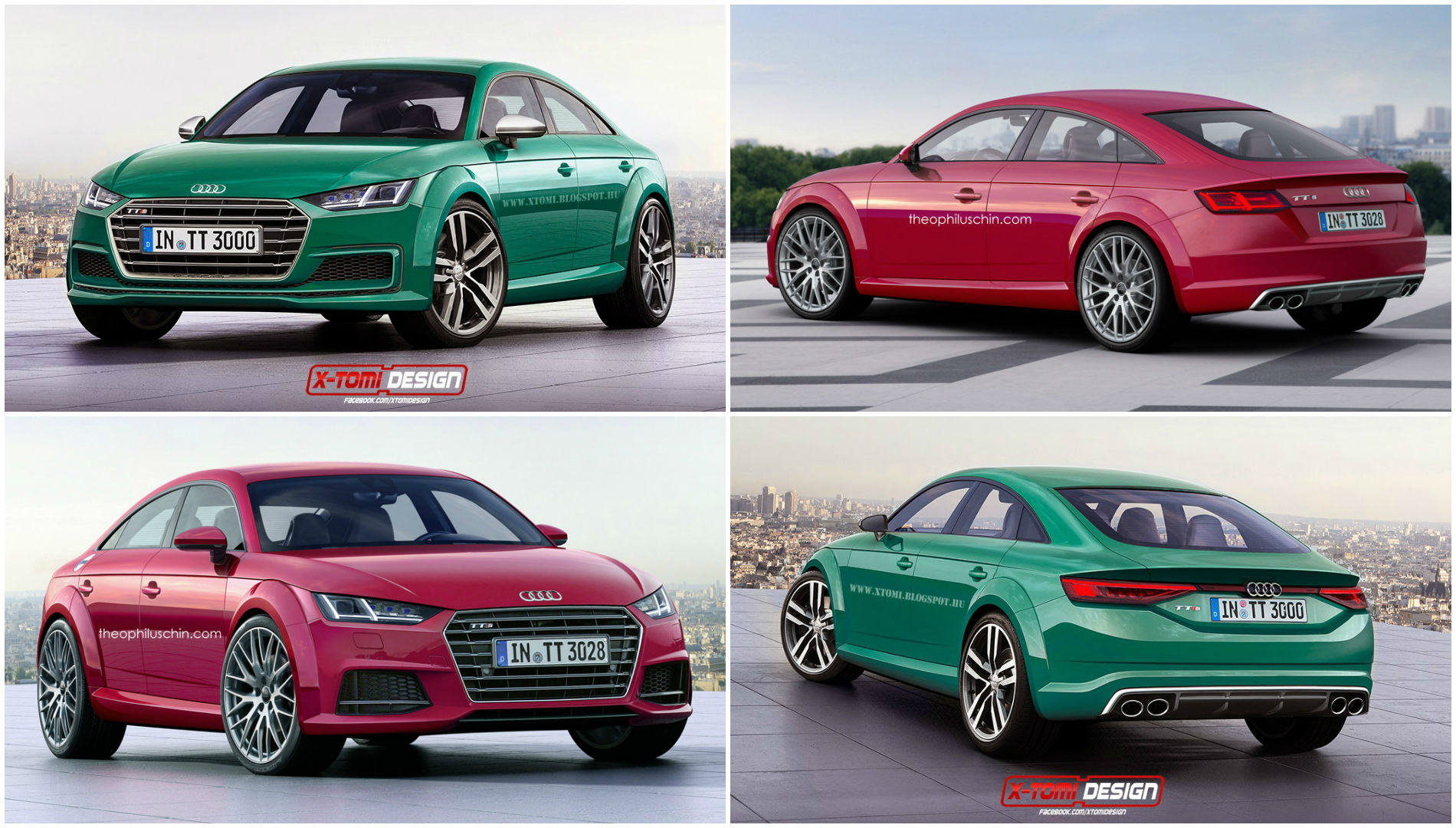 Tt 2017 Here 39s What The 2017 Audi Tt Sportback Might Look Like In