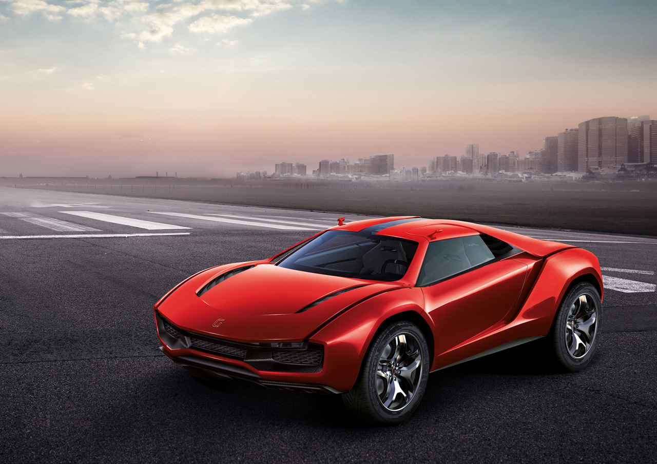 Elon Musk Car In Spac Wallpaper Italdesign Giugiaro Parcour Is A Lamborghini Powered