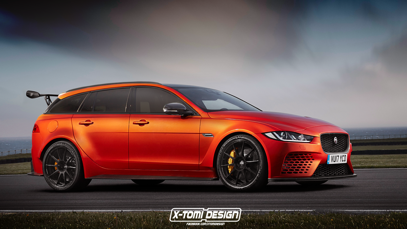 Jaguar Xe Sv Project 8 Jaguar Xe Sv Project 8 Sportbrake Looks Like A Modern