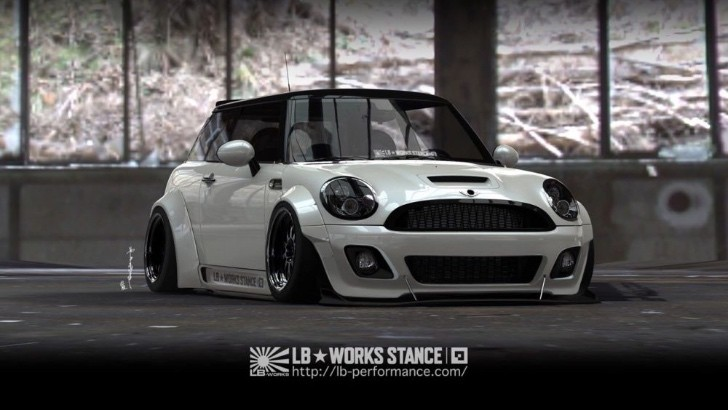 Cool Modified Cars Wallpapers Liberty Walk Mini Cooper Wide Body Kit Unveiled