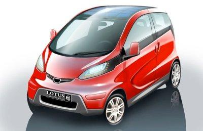 Lotus City Car Concept Sketches - autoevolution
