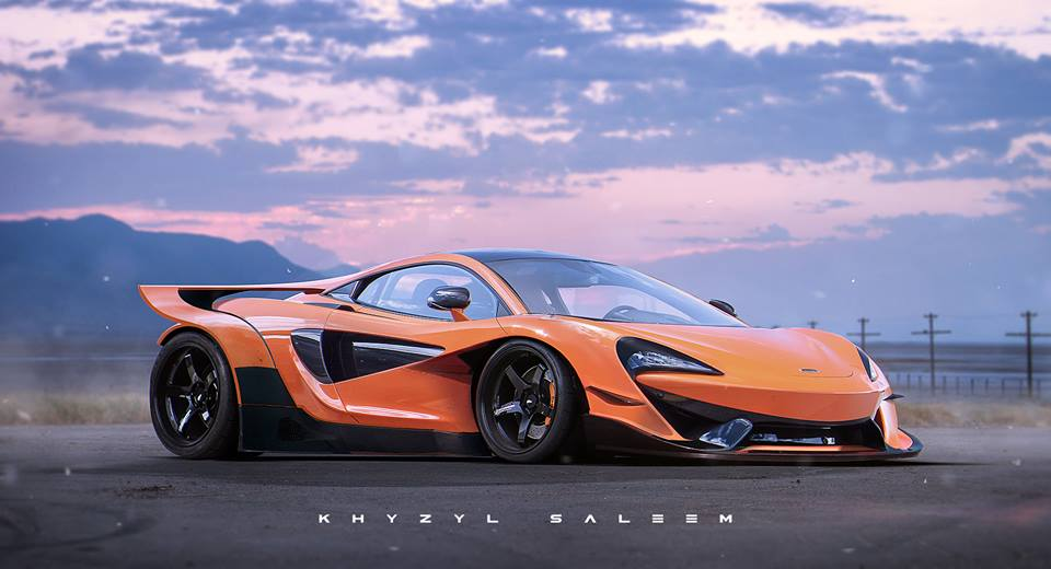 Dope Car Wallpapers Mclaren 570s Can Am Experiment A Rendering Bruce Mclaren
