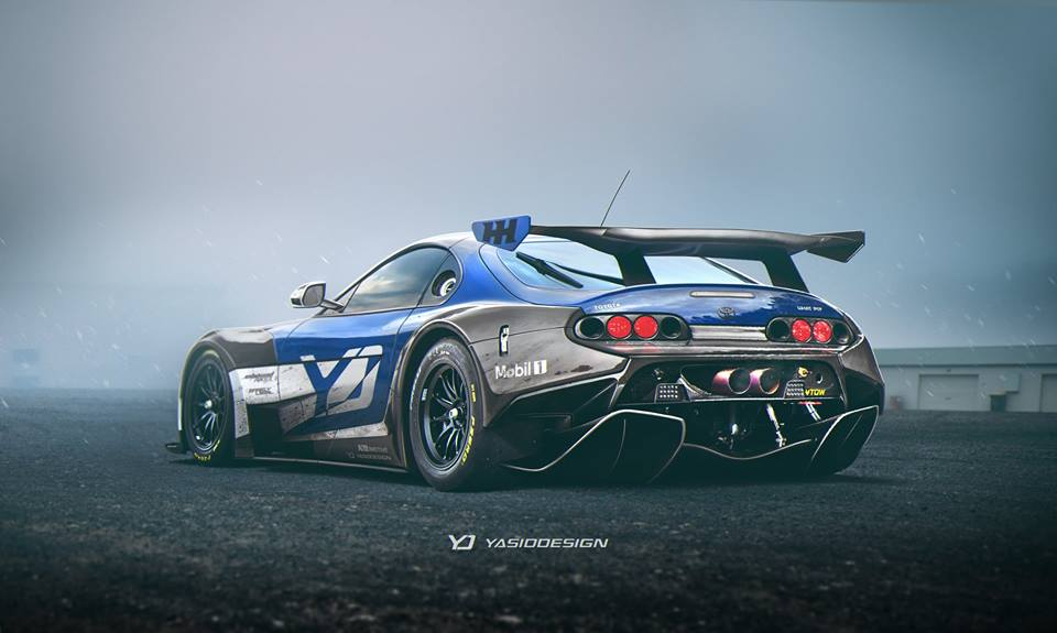 Rally Car Hd Wallpaper Mclaren P1 Gtr Aero Pack Installed On Toyota Supra Makes