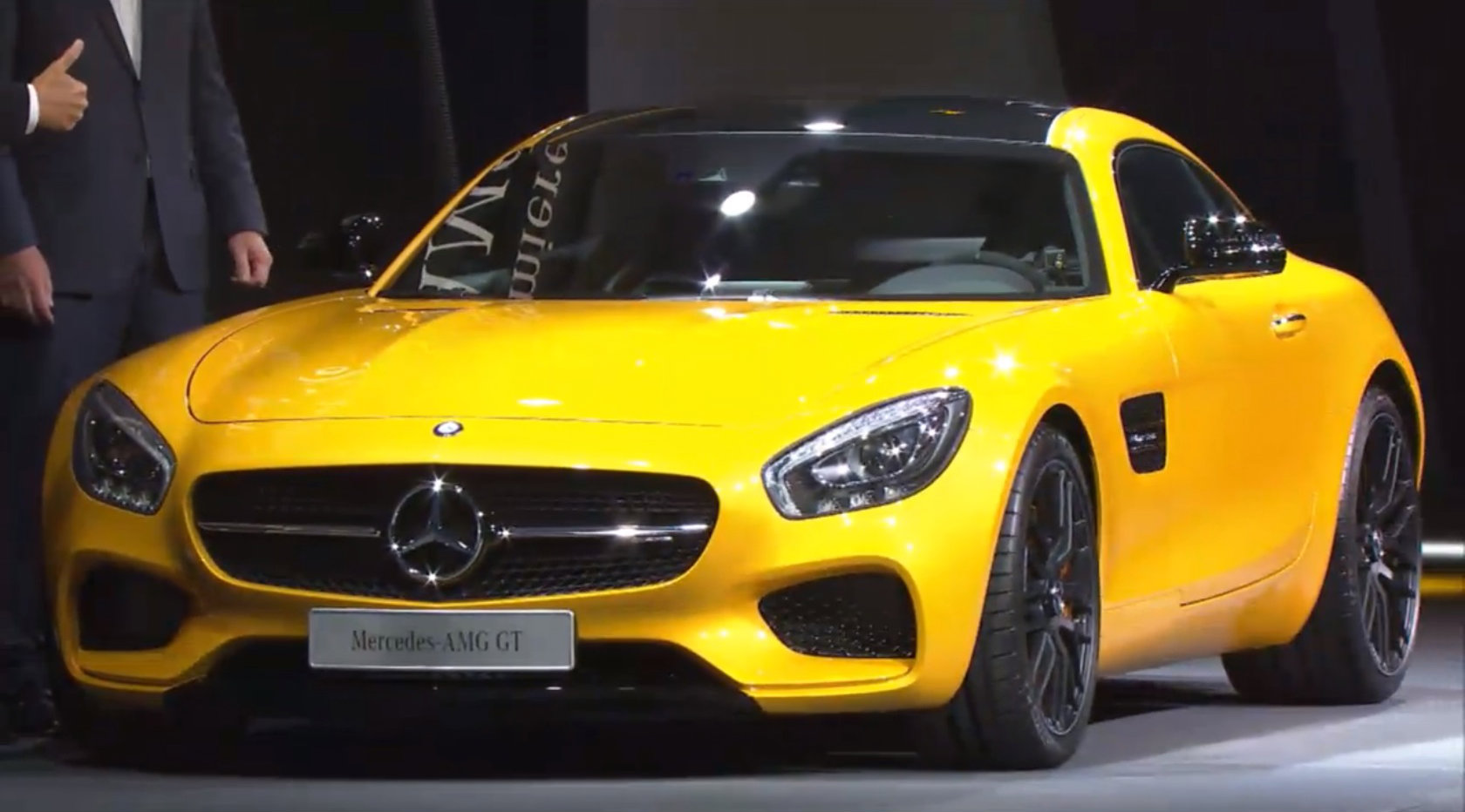 Amg Gt Mercedes Amg Gt Revealed In Germany Video Autoevolution