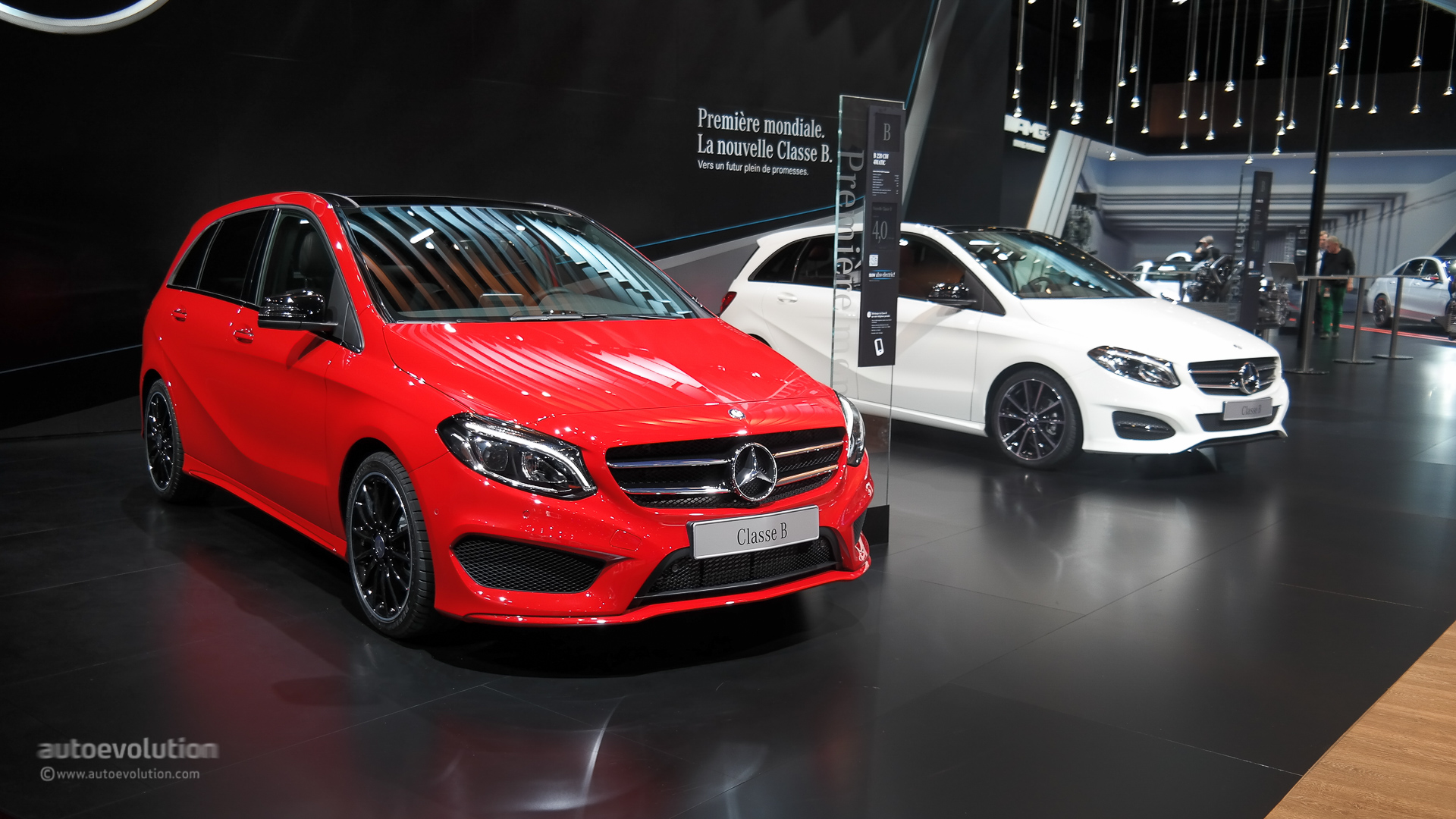 Very Best Sports Car Wallpaper Mercedes B Class Facelift Debuts At Paris Motor Show 2014