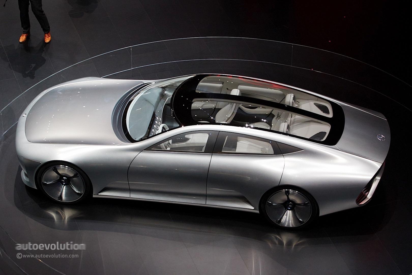 German Car Wallpaper Mercedes Benz Concept Iaa Storms Frankfurt With Its