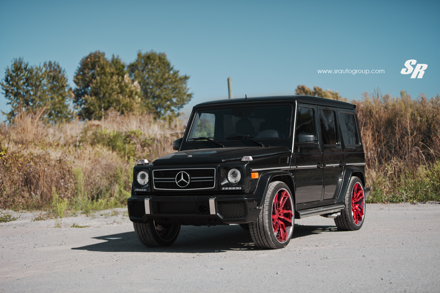 Project Cars Wallpaper Red Mercedes G63 Amg Gets Sharp Looking Pur Candy Apple Wheels